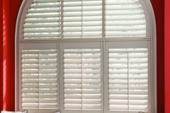 Eclipse™ Shutters - Arch Close-up