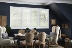 Eclipse™ Shutters - Blue Dining Room