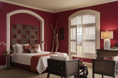 Eclipse™ Shutters - Bedroom Arch