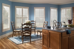 Eclipse™ Shutters - Blue Kitchen