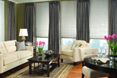 Prism Pleated Shades - Living Room