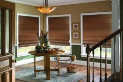 Roman Shades - Woodtone in the Woods