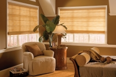 Roman Shades - Golden Sunset