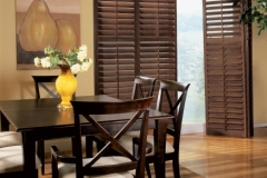 Solstice™ Wood Shutters - Dining Room