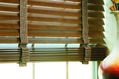 Wood Blinds - Decorative Tape Close-up
