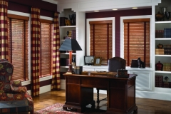 Wood Blinds - Office